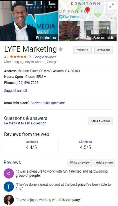 local search engine marketing