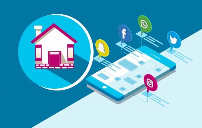 real estate social media strategy