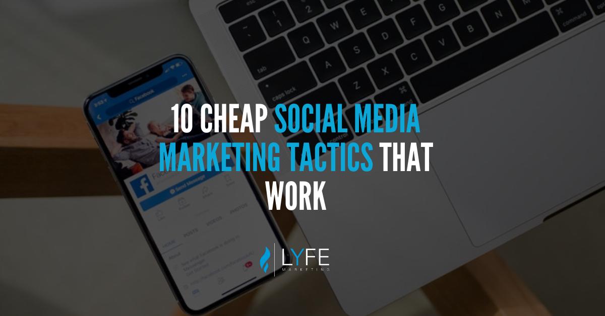 tactiques de marketing des médias sociaux